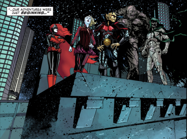 Batwoman FE 1 [Matlock]