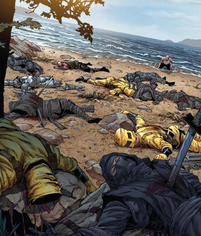 Death of Wolverine 1 [Matlock]