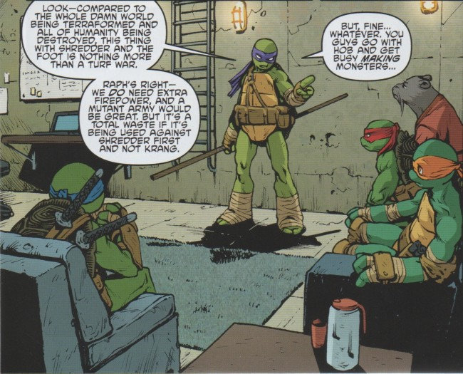 Teenage Mutant Ninja Turtles 38