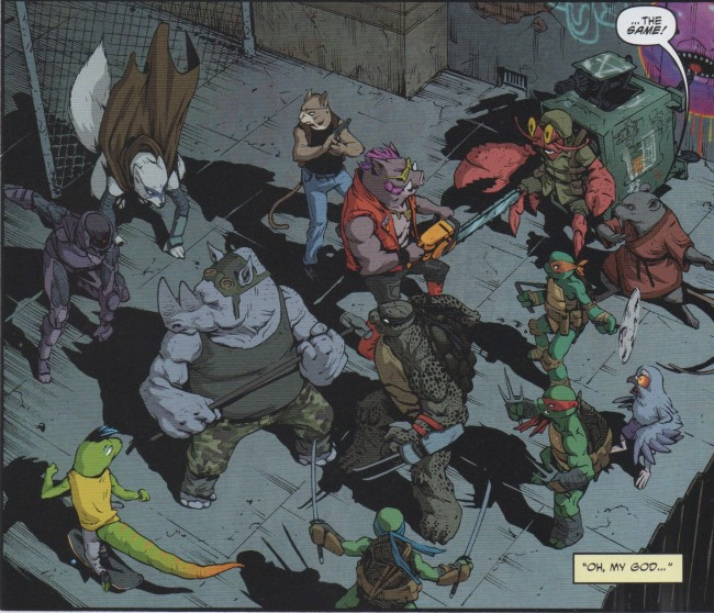 Teenage Mutant Ninja Turtles 39