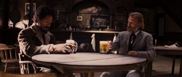 django unchained - beer