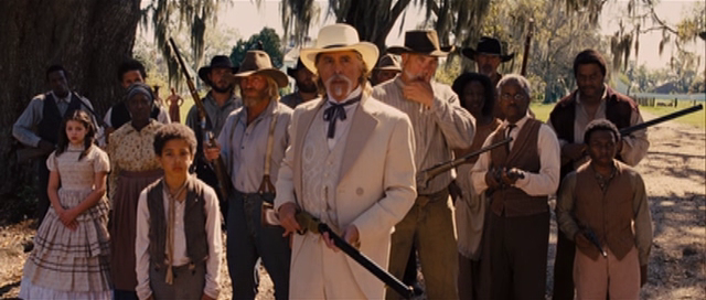 django unchained - we are fam i ly
