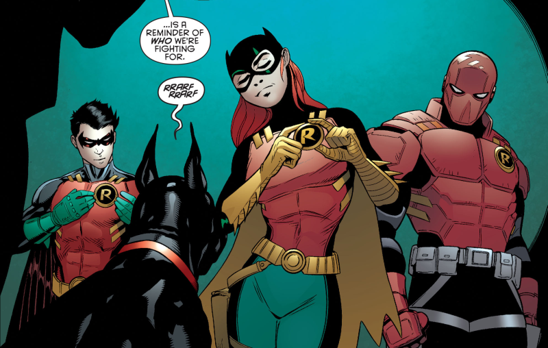 essays batman and robin